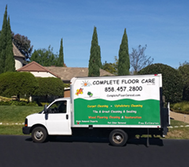 Complete Floor Care serves all of San Diego, CA