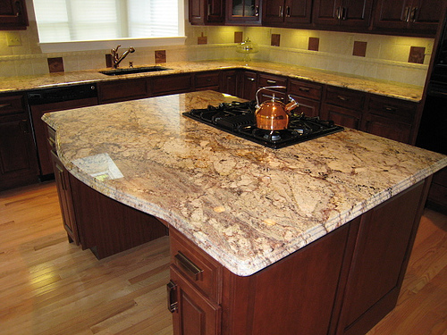Cleaning Granite Countertop and Wood Floors La Jolla, Chula Vista, San Diego