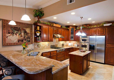 Cleaning Compoany for Granite Kitchen Countertops and Tile Floor Cleaning El Cajon and Carlsbad